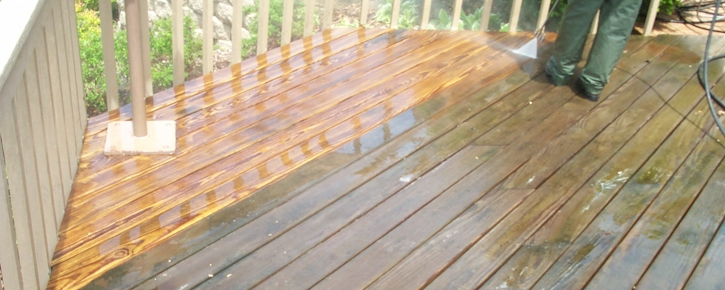 Valparaiso Indiana Deck Cleaning